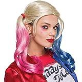Rubies 333608 - Harley Quinn Sucide Squad Perücke, Action Dress Ups und Zubehör, One Size