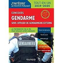 Concours Gendarme sous-officier de gendarmerie externe - Tout-en-un: Tout-en-un - 2019/2020