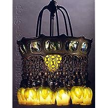 Lámpara de techo–Réplica una Tiffany lámpara estilo orientales 'sharijar'