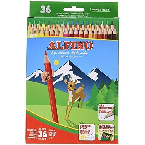 Alpino 8413240564713 - Lápices, 36 unidades