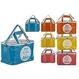Bolsa Nevera de Playa con Asas y Cremallera Cuatro Colores Hogar y Más - Azul
