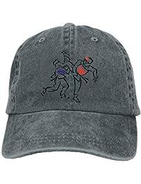 Walnut Cake Gorras béisbol Punk Taekwondo Denim Hat Adjustable Unisex Curved Baseball Cap