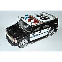 Hummer H2 2003 Polizei Police 1/18 Jada Modell Auto mit oder ohne individiuellem Wunschkennzeichen