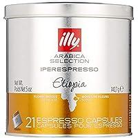 illy Iperespresso Kapseln Home, Arabica Selection Äthiopien, 21 Espressokapseln