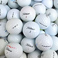 Second Chance 100 Titleist NXT/Extreme Tour B Grade - Bolas de golf reciclada, color blanco