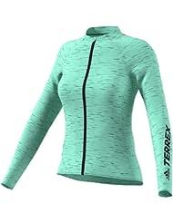 adidas Az2262 Sweat-Shirt Manches Longues Zippée Femme