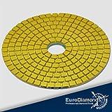 Diamante 868–Húmedo/DIA Wet, grano 800, 100mm, M14, grabación de velcro discos de pulir Polis hpads, schleifpads mármol piedra natural, azulejos, granito piedra natural lija
