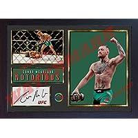 Conor McGregor UFC artes marciales mixtas autógrafo deporte boxeo filmcell factory enmarcado # 010