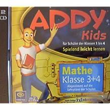 ADDY KIDS Mathe, Klasse 3+4 (2 CDs), Spielend leicht lernen - für Schüler der Klassen 1 bis 4, Abgestimmt auf die Lehrpläne der Schulen