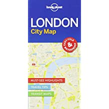 Lonely Planet London City Map (Travel Guide)