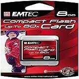 Emtec Compact Flash 8GB - Speicherkarten (Kompaktflash, Blau)
