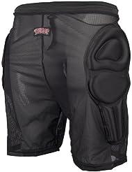 BULLET BULPS001 - Pantalones corto con amortiguación, color negro