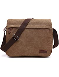 Outreo Bolso Bandolera Hombre Bolsos Originales Bolsas de Viaje Bolsos de Tela Vintage Messenger Bag para Marca Colegio Mujer Escolares Sport Casual Bag