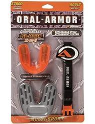 Franklin Oral Armor Gel 5345 - Protector bucal de gel para adulto, color naranja