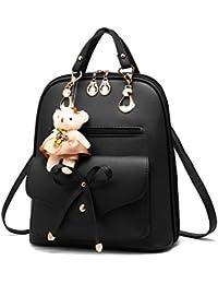 Barwell Women Girls Backpack School Shoulder Bag PU Leather Daypacks Travel Bag