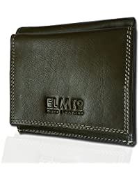 EL Mio® Men Khaki Woods Soft Pure Genuine Leather Formal Regular Wallet With A Casual, Fashionable, Trendy, Stylish...