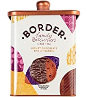 Luxury Chocolate Biscuit Barrel 600gr. Border Biscuits