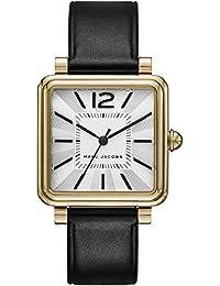 Marc Jacobs MJ1437 - Reloj con correa de cuero, para mujer, color gris / negro