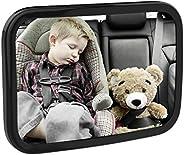 MoKo Baby Car Mirror, Shatterproof Acrylic Backseat Mirror for Car Rearview Infants Adjustable Rear Facing Mir