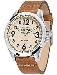 Sector Herren - Armbanduhr 180 Analog Quarz Leder R3251180012