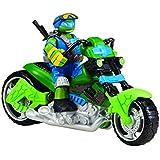 tortues ninja 5586 vhicule figurine animation quad rotor avec leo 12