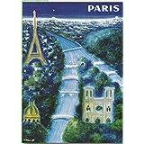 FRANCIA VINTAGE POSTER CARTEL PUB RETRO 50x70cm capital de Francia, París ciudad por Villemot
