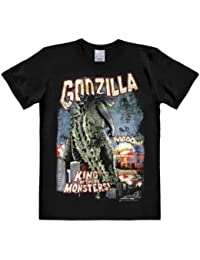 Logoshirt Godzilla-King of the Monsters, T-Shirt Homme, Noir
