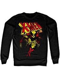 X-Men Distressed Sweatshirt (Noir)