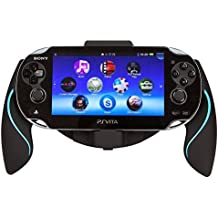 Link-e  - Ergonomic joystick controller holder black/Blue for Sony PS Vita console