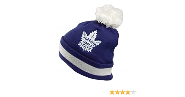 364535dbbb151e ... purchase mitchell ness toronto maple leafs bobble hat blue blue 1 size  amazon clothing 6335d 7bc58