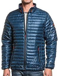 Legenders - Doudoune homme bleu zip étanche