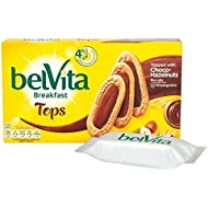 Belvita Tête Choco Noisette 5 X 50G - Paquet de 6