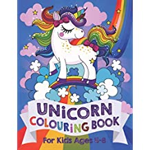 Unicorn Colouring Book: For Kids ages 4-8
