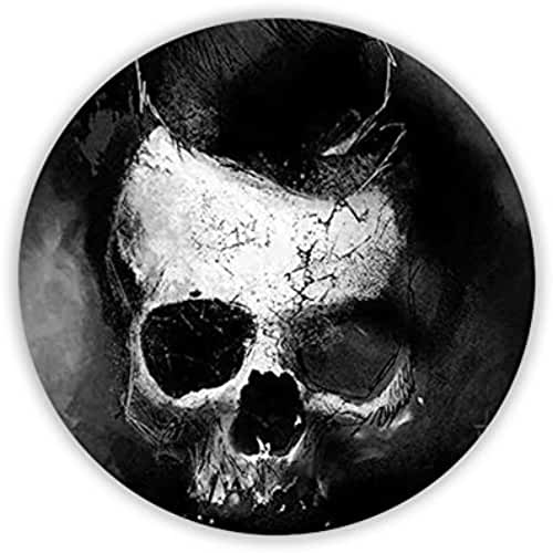 Schlumberger Shop Guy For Coaster Circle Print Skull Cartoon Kawaii Mdf Material