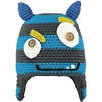 Barts Monster Beanie Berretto, Multicolore (Blu Stile Mostro/Orecchie Blu), Taglia 53 ( da 4 Anni in su )