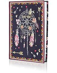 Accessorize Femme Carnet cousu d'un attrapeur de rêves traditionnel