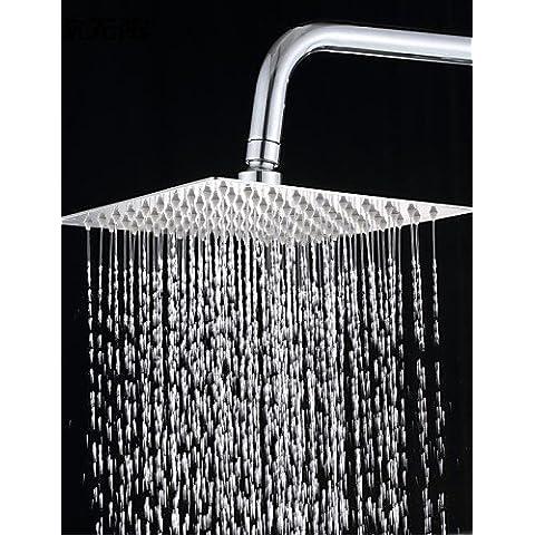 LONG-8 pollici in acciaio inox 304 precipitazioni piazza soffione doccia