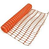True Products b1003C 4kg 1m x 50m standard en plastique en maille filet de sécurité Barrière Clôture Rouleau–Orange (en)