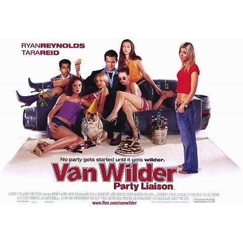 National fueron Devastadas es Van Wilder Póster de película B - 27 x 40 en 69 cm x 102 cm Ryan Reynolds Tara Reid Tim Matheson Kal Penn Teck Holmes Daniel