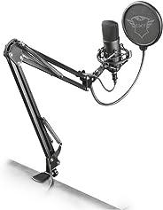 Trust Gaming GXT 252+ Emita Plus Professionele USB Studio Microfoon (Microphone met Condensator en Uitschuifbare Arm voor PC