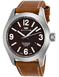 Glycine Incursore Automatic Stainless Steel Mens Strap Swiss Watch Calendar 3874.177-LB7BH