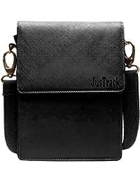 JusTrack Unisex Leather Sling Bag