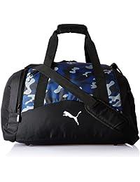 Puma Polyester 29 cms Blue Depths-Camo AOP Sports Duffel (7509901)