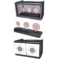 Nerd Clear Softair Airsoft Automatik Schiess-Stand 30 cm x 20 cm x 15 cm inkl. Kugelfang u. 500 Kugeln Farbe nach Verfügbarkeit Kinderspielzeug Übung