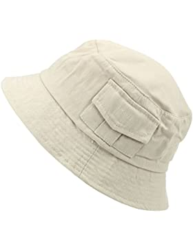 Hawkins - Gorro de pescador - Sombrero del cubo - para hombre