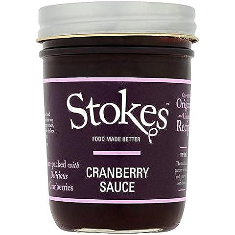 Stokes salsa de arándano 260g