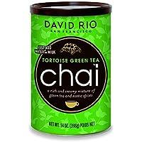 David Rio Chai Mix, Tortoise Green Tea, 14 Ounce  FlavorName: Tortoise Green Tea Size: 14 Ounce