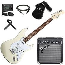 FENDER Squier Stratocaster BULLET ATW chitarra elettrica + Amplificatore + Borsa + Accordatore + Tracolla +