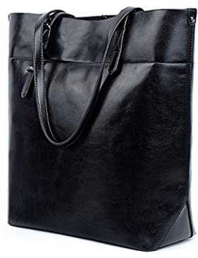 UTO Damen Shopper Tasche Top Handle gross Capacity 13.3