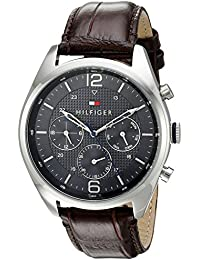 Tommy Hilfiger Analog Grey Dial Men's Watch - NATH1791184